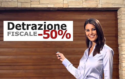 Cancelli automatici portoni antifurti videosorveglianza for Detrazione 50